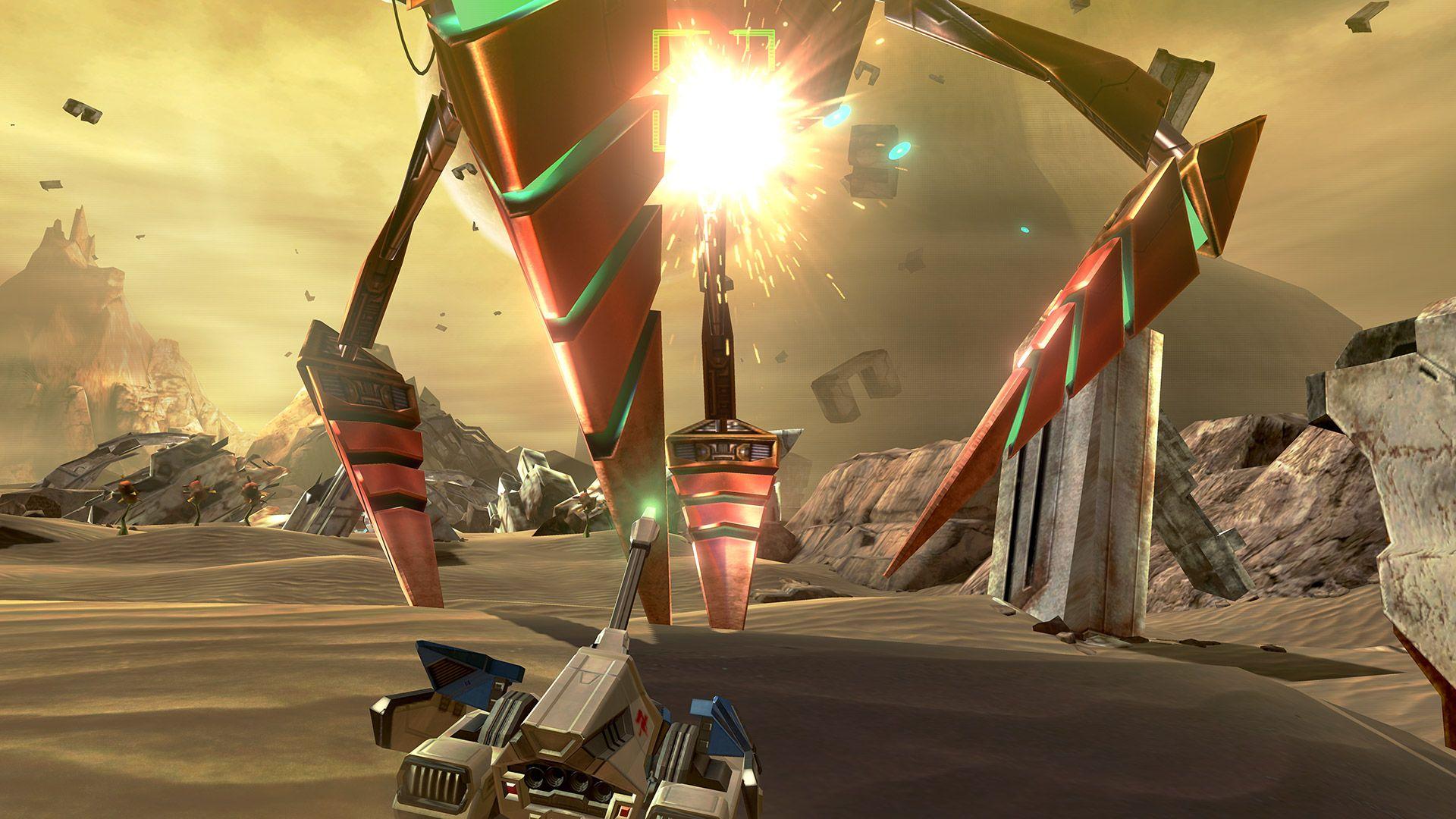 gameplay de star fox zero