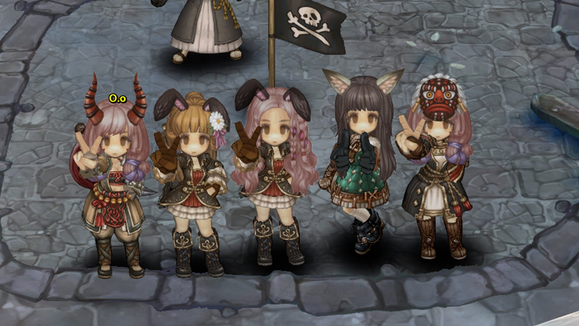 tree of savior personajes