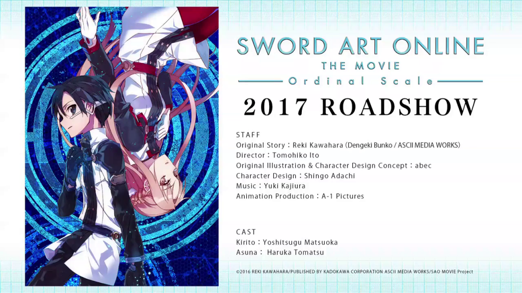 sword art online pelicula 2017