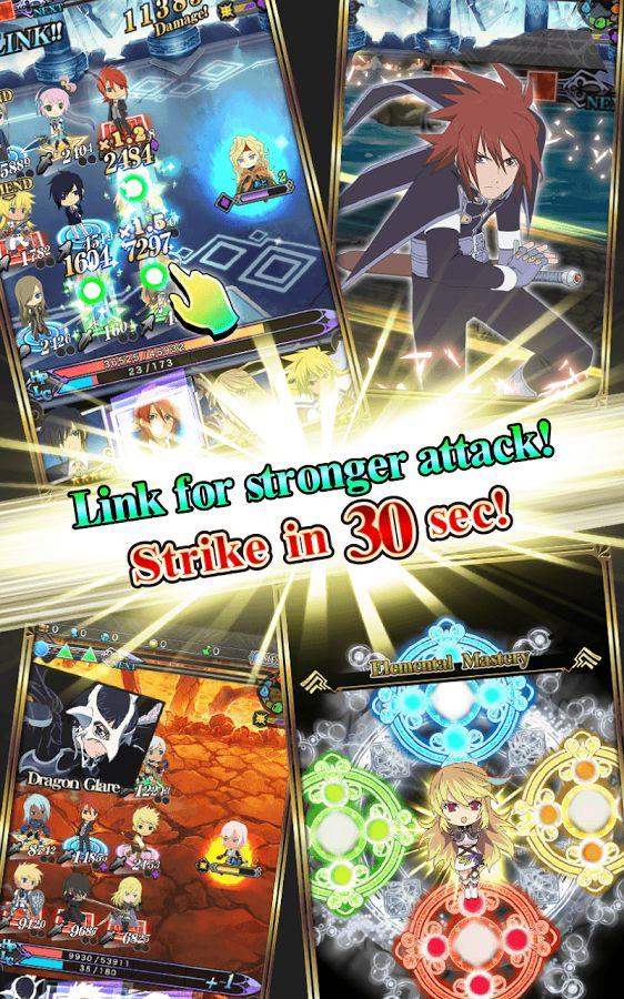 Oficialmente llega Tales of Link para iOS y Android
