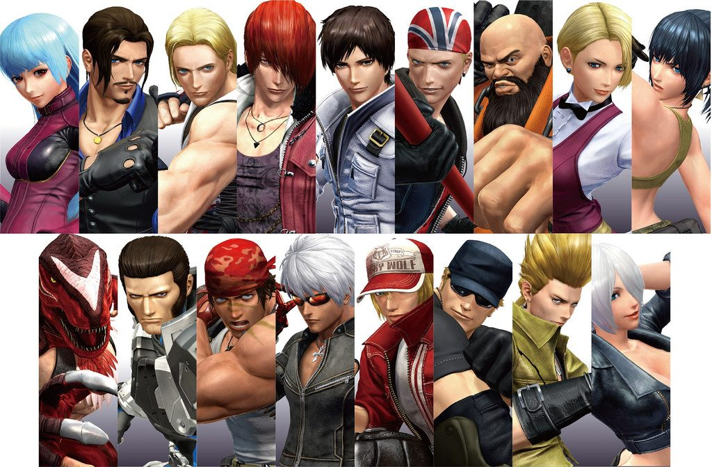 The_King_of_Fighters_Roster