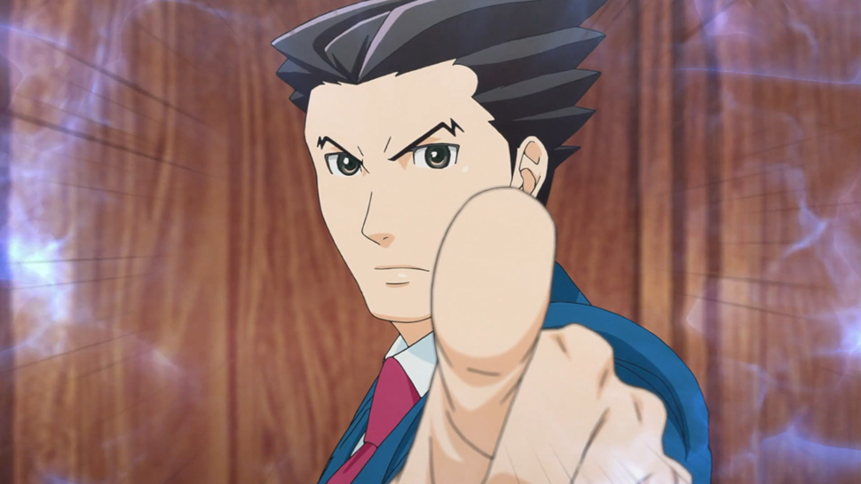 anime ace attorney phoenix wright
