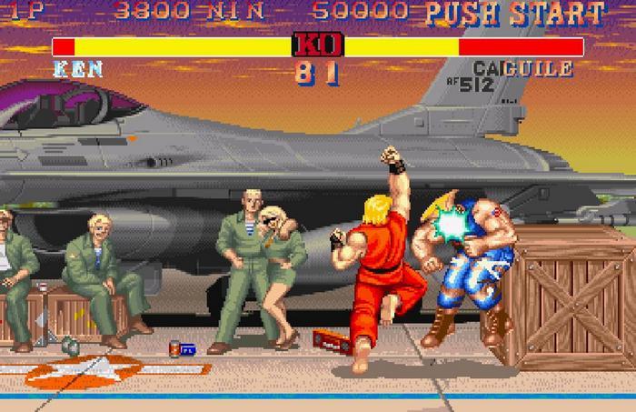 personajes de street fighter 2