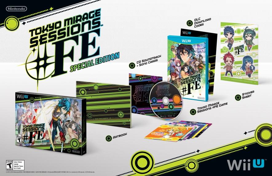 Nuevo trailer de Tokyo Mirage Sessions #FE Special Edittion