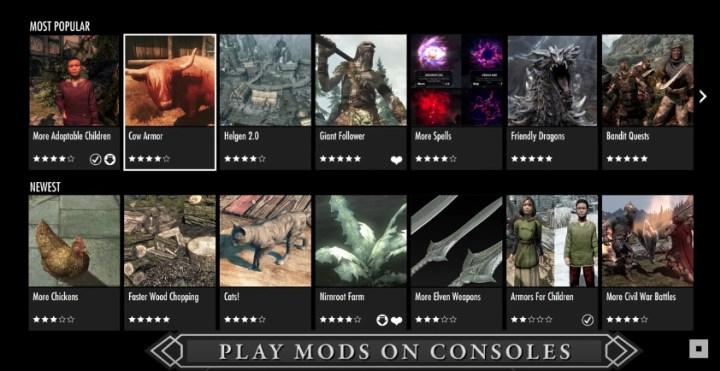 Skyrim Remastered Mods