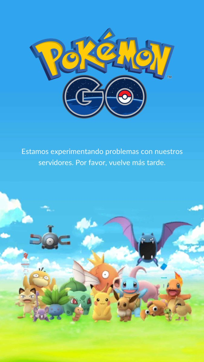 Cierran los servidores de Pokémon GO