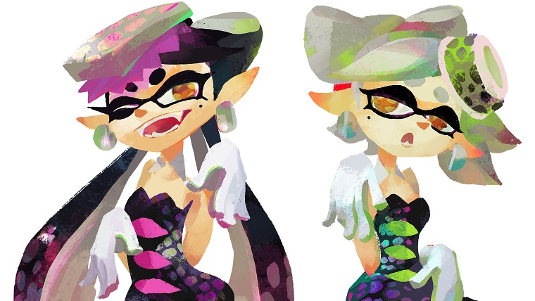 team marie team callie splatfest