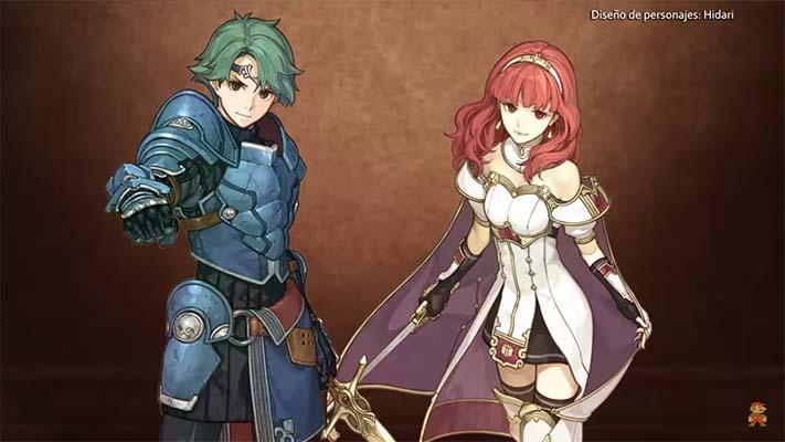 Resultado de imagem para Fire Emblem Echoes: Shadows of Valentia